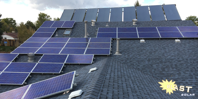 remove and remount solar panels